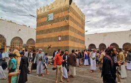 هلع وخوف بسبب إغلاق صنعاء القديمة لمدة 10 ايام