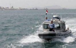 خفر السواحل بحضرموت القوات الدولية أحبطت عملية القرصنة للباخرة بعيدا