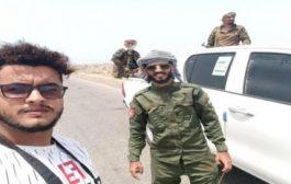 إصابة 4 اعلاميين مرافقين للقوات الجنوبية في اشتباكات جبهة شقرة