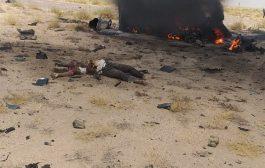 مقتل وجرح اربعة اشخاص بانفجار لغم في منطقة جعولة