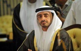 ملف اليمن في مباحثات وزيري الخارجية الإماراتي والسويد