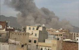 التحالف يرد بقصف صنعاء