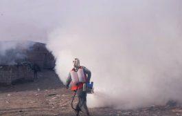 الضالع :  بجهودذاتية يواصل صندوق النظافة حملات التنظيف والرش الضبابي والرذاذي