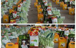 مؤسسة رحمة توزع (٢٥٠) سلة غذائية لمتضرري السيول بالعاصمة عدن