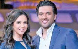 ماهي حقيقة انفصال إيمي سمير غانم عن زوجها حسن الرداد