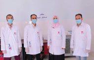 افتتاح المستشفى الميداني للحميات بالمعلا بتجهيزات مؤسسة أنا طبيب أنا أستطيع