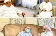 محافظ عدن يبحث مع مستشاري رئيس الجمهورية جهود تطبيع الحياة بالعاصمة ومعالجة الأزمات الخدمية