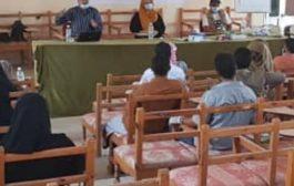 منظمة البحث عن ارضية مشتركة تنفذ ورشة عمل لجنة حل الصراعات بمديرية ردفان