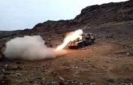 مقتل 7 مسلحين حوثيين وإحراق طقمهم العسكري