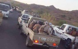 قتلىوجرحى من الحوثيين بمعارك وغارات في قيفة