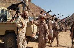 قتلى وجرحى من المليشيات الحوثية في مديرية الزاهر