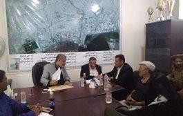 بالصور : محلي المنصورة ومرحلة الاستلام والتسليم بعد قرار محافظ عدن