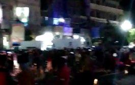 عصيان مدني ومظاهرات احتجاجية بمدينة دمت شمال الضالع ومليشيا الحوثي تستخدم العنف المفرط ضد المتظاهرين