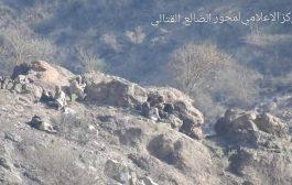 القوات الجنوبية والمشتركة تقتل قائد ميداني حوثي ومرافقيه في منطقة العود