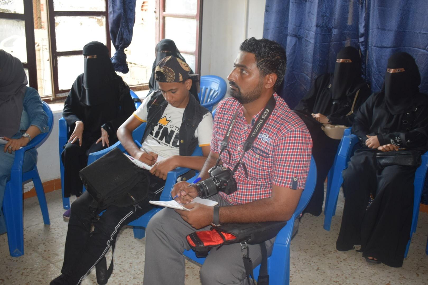 اتحاد المصورين العرب في اليمن ينظم دورة المصورين المبتدئين بعدن