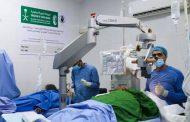 سلمان للإغاثة يدشن حملة المخيمات الجراحية لمكافحة العمى بعدن
