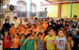 محافظ عدن ومدير صندوق المعاقين يدشنان العام الدراسي بمعهد النور للمكفوفين