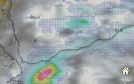 استمرار تشكل الحالة المدارية جنوب سقطرى وتوقعات لتطويرها لعاصفة