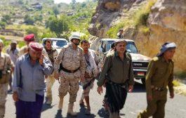 احباط محاولات تسلل لمليشيات الحوثي الإنقلابية على مواقع متفرقة في اسفل جبهة الصلو