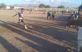 لحج المضاربه فريق راس عمران يدك شباك شيخ علي بخماسية مقابل هدفين