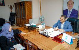 احمد لملس يؤكد دعمه الكامل لجهود مكافحة المخدرات في عدن