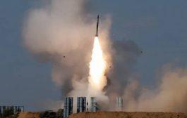 سقوط صاروخ باليستي حوثي في صعدة