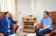 لقاء يبحث مشكلات قطاع الإعلام بالعاصمة المؤقتة عدن
