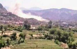 قتلى واصابات مدنية وتفجير منازل في منطقة الحيمة بتعز