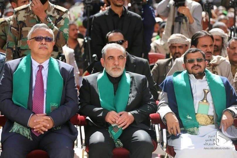 خلافات حاده بين ايرلو سفير الحرس الثوري لدى الحوثيين والمشاط في ذكرى مقتل سليماني