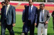 وزير الشباب والرياضة يتفقد الأعمال الإضافية في ملعب الشهيد الحبيشي بعدن
