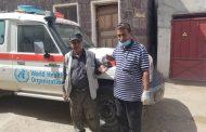 مكتب الصحة بالضالع يدشن توزيع اثاث وتجهيزات طبية بقعطبة