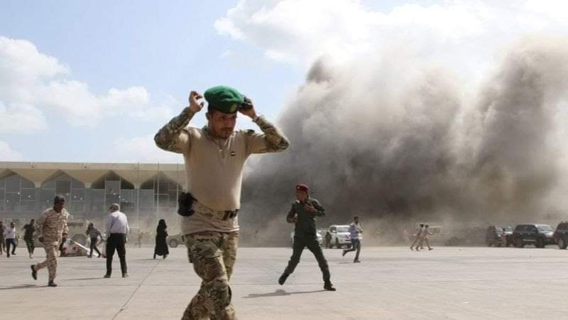 مطار عدن يحيي أربعينية شهدائه الذين سقطو بصواريخ المليشيات الحوثية