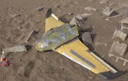 إسقاط طائرة حوثية في لحج