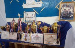 بمناسبة الذكرى 76 للتأسيس إدارة نادي الشرارة تقيم معرض وعرض للألعاب القتالية بلحج