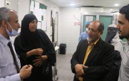 لجنة من محافظة عدن لرصد احتياجات مستشفى الجمهورية النموذجي العام بعدن*