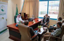 مركز سلمان للإغاثة بعدن يناقش مع اليونيسيف الخدمات الصحية ل١٥محافظة والمشاريع المشتركة في اليمن