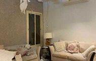الصاروخ الحوثي يتسبب بأضرار في منزل مواطن بالرياض
