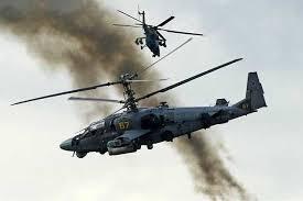 سقوط مروحية روسية في سوريا ومقتل طيارها