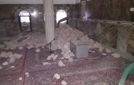 أمن تريم يعلن القبض على متهمين بالاعتداء على مسجد بالحجارة