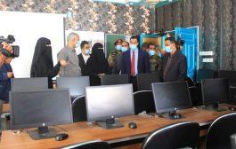 وزير التربية والتعليم يفتتح مشاريع تربوية وتعليمية في المكلا
