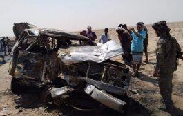قتلى ومصابين في حادث مروع في لحج