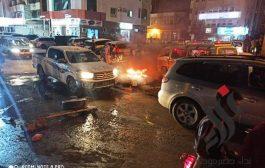 تنديدا بارتفاع سعر الوقود .. تواصل الاحتجاجات في المكلا لليوم الثالث
