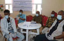 لحج : ورشة تدريبية في تطوير المواد الإعلامية حول الاستجابة لفيروس كورونا المستجد