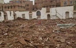 يعود بنائها الى أكثر من 500 عام المليشيات الحوثيه تدمر قلعة اثرية