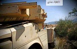 كسر هجومين منفصلين للمليشيات الحوثية ومصرع وجرح عدد منهم