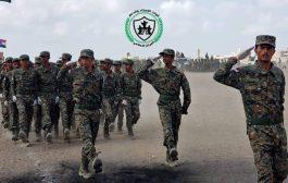 الحزام الأمني بمحافظة لحج ..عرض عسكري وتخرج دفعة جديدة
