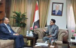 وزير الصناعة اليمني يؤكد أهمية الاستفادة من الفرص التي تعرضها مصر
