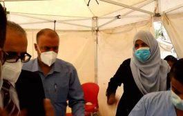 بعد الاعتداء عليهن .. موظفات مركز العزل في عدن يغادرن المركز