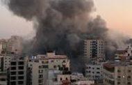 عاجل : إسرائيل تدمر برجا