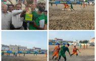 فريق التحدي يفوز بگأس بطولة شهداء البكراس بمديرية البريقة